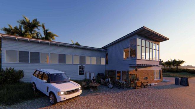 Beach House Dawn