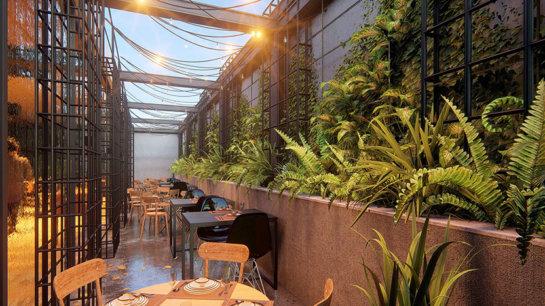 lumion environments - interior restaurant