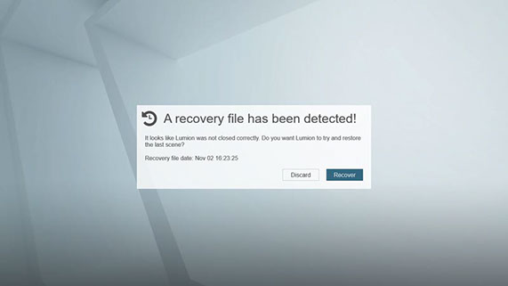 recovery571x321 - Lumion What's New
