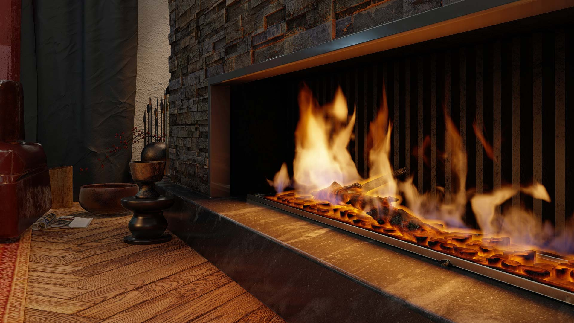 2 Fireplace iter4 fireSharp  00372 - Lumion 11 is available now